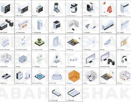 #39 cho Isometric hotel amenities elements for room and home reservation website bởi nabahatshakil94