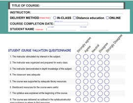 #17 cho School/instructor valuation form bởi marbei