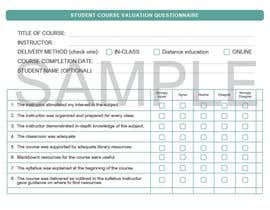 #7 for School/instructor valuation form af animeshniraj