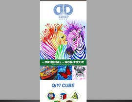#109 untuk Banner design for Stand Up vertical roll up banner oleh jaydeo