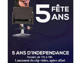 nº 17 pour Flyers fête 5 ans salon de coiffure par amasuma412