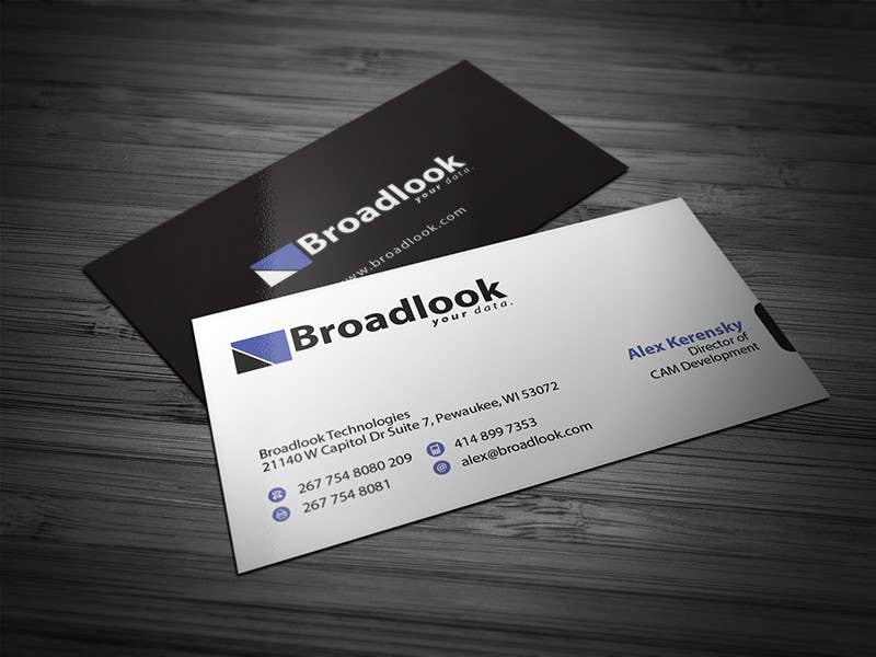 #17 for Business Card Design for a Technology Company by Brandwar