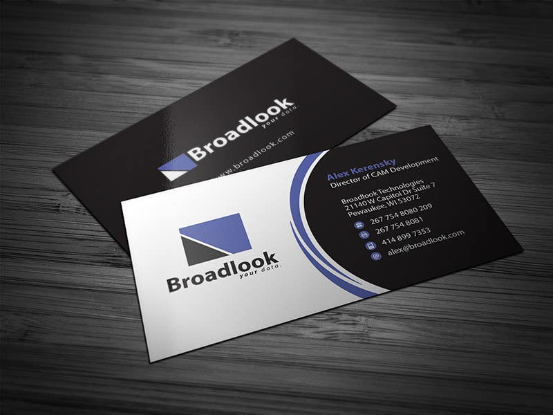 #18 for Business Card Design for a Technology Company by Brandwar