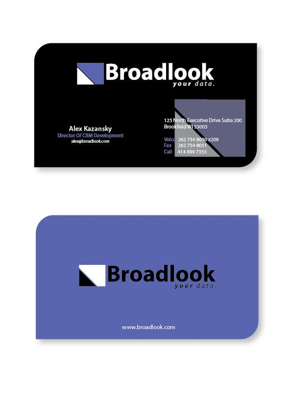 #33 for Business Card Design for a Technology Company by roaidahmed
