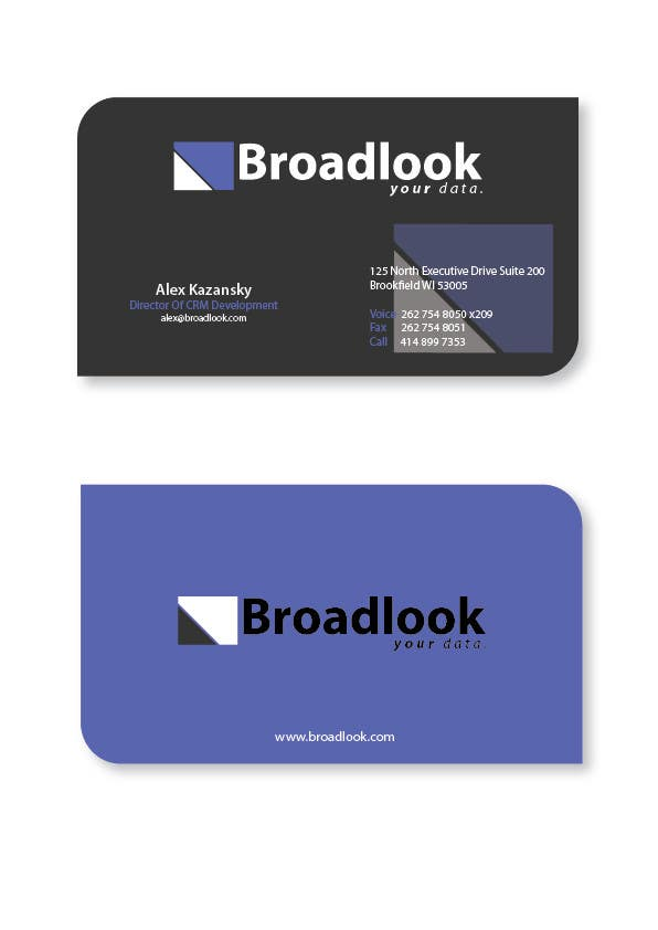 #35 for Business Card Design for a Technology Company by roaidahmed