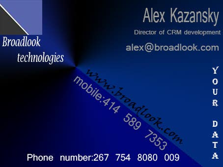 #8 for Business Card Design for a Technology Company by berackaberacka