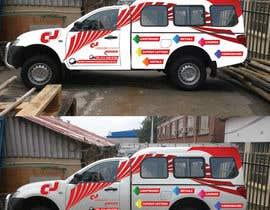 nº 8 pour I need some Graphic Design for vehicle par HAMEEDKHN