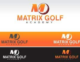 #43 para Matrix Golf Academy logo design por ZahidAkash009