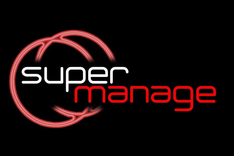 Konkurrenceindlæg #                                        64                                      for                                         Logo Design for SuperManage