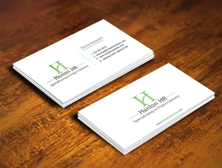 Entry #37 by gohardecent for Design a logo, business card design and ...
