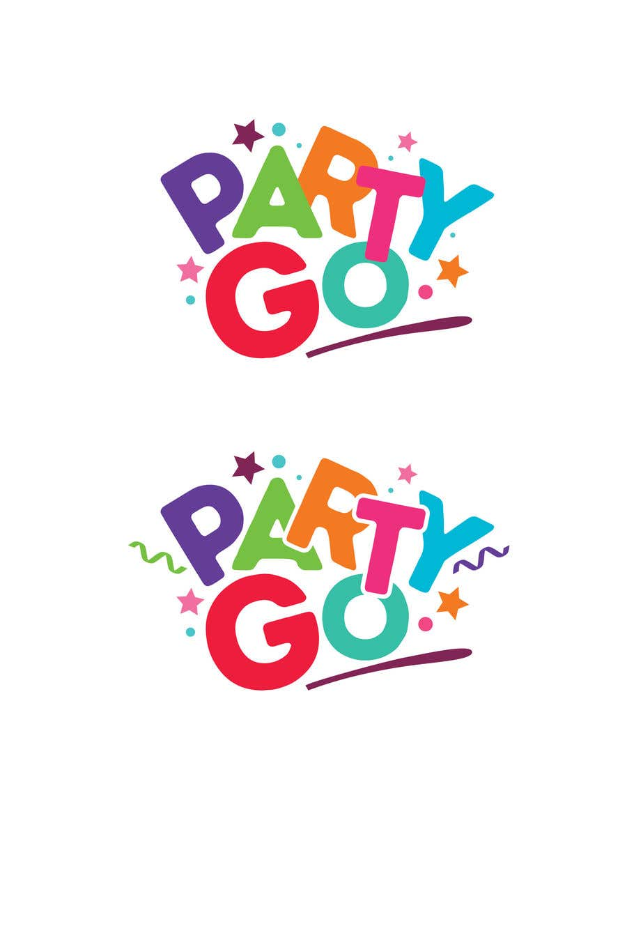 Participación en el concurso Nro.                                        123                                      para                                         Children party Logo