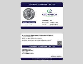 #4 for CREATE EMPLOYEE IDENTIFICATION CARD DESIGN FOR OXO COMPANY LIMITED by mdrifatmiah0101