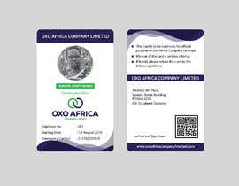 #9 for CREATE EMPLOYEE IDENTIFICATION CARD DESIGN FOR OXO COMPANY LIMITED by mdrifatmiah0101