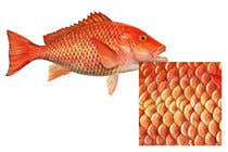 Graphic Design Konkurrenceindlæg #12 for I'm looking for a digital artist who can draw detailed fish scales