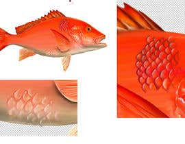 #20 for I'm looking for a digital artist who can draw detailed fish scales af juliantoK