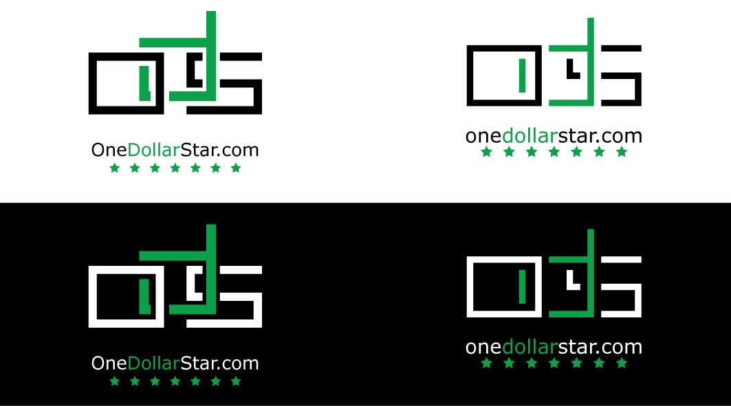 Penyertaan Peraduan #                                        53                                      untuk                                         Logo Design for onedollarstar