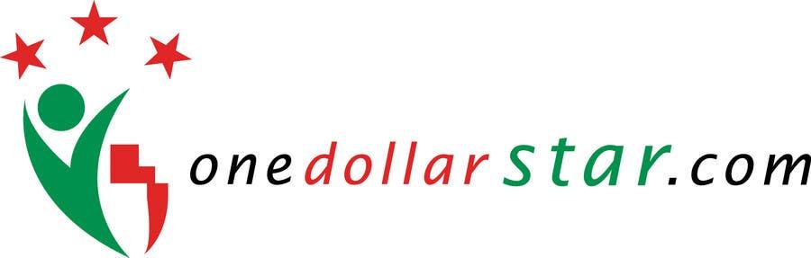 Penyertaan Peraduan #                                        89                                      untuk                                         Logo Design for onedollarstar