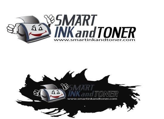 Kilpailutyö #                                        46                                      kilpailussa                                         Logo Design for smartinkandtoner.com
