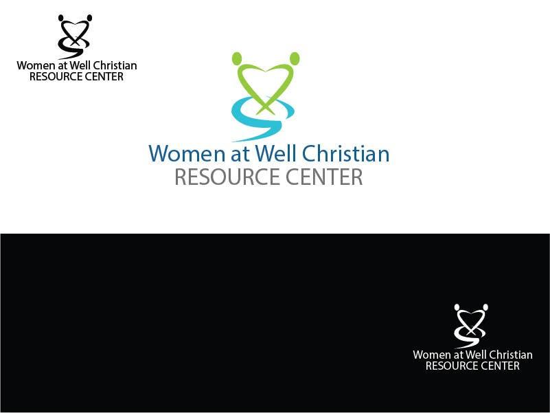 Inscrição nº                                         2                                      do Concurso para                                         Logo Design for Women at the Well Christian Resource Center