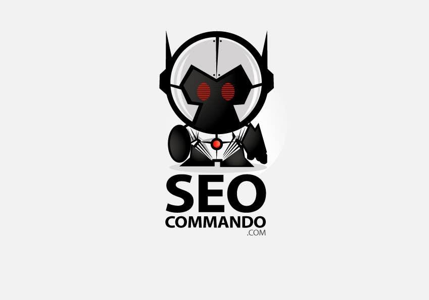 Kilpailutyö #101 kilpailussa Logo Design for SEOCOMMANDO.COM