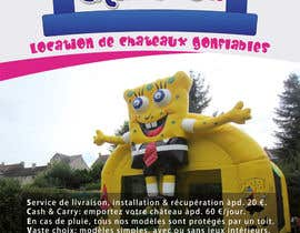 nº 25 pour Flyer Design for Inflatable castle rental par prijatel