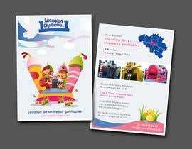 Decafe tarafından Flyer Design for Inflatable castle rental için no 30