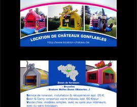 #3 untuk Flyer Design for Inflatable castle rental oleh ezesol