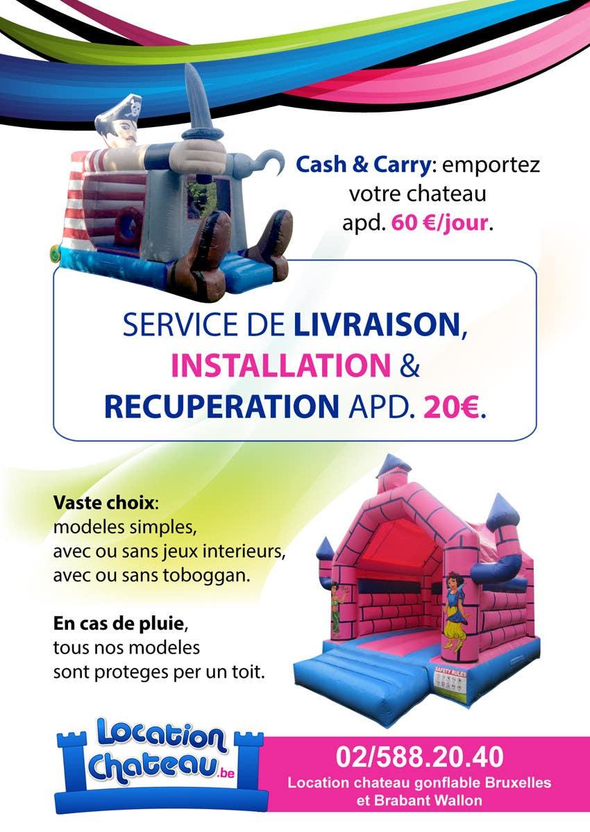 Bài tham dự cuộc thi #                                        21                                      cho                                         Flyer Design for Inflatable castle rental