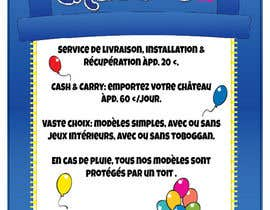 nº 2 pour Flyer Design for Inflatable castle rental par Dysnomia