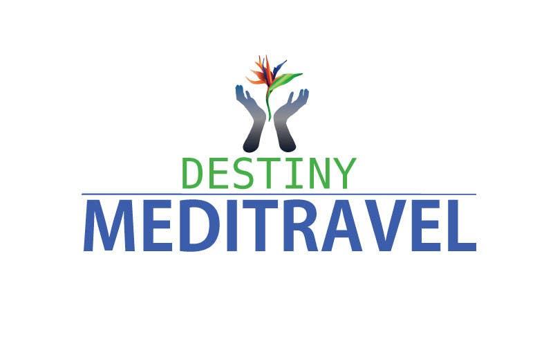 Kilpailutyö #                                        146                                      kilpailussa                                         Logo Design for Destiny Meditravel