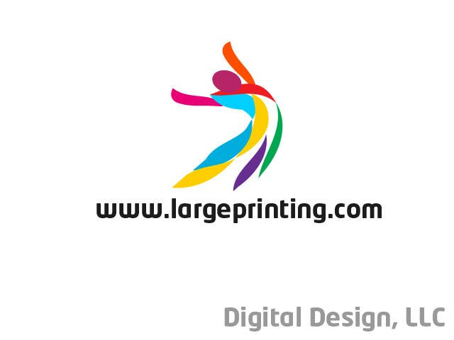 Конкурсная заявка №95 для Logo Design for Digital Design, LLC / www.largeprinting.com
