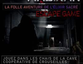#56 for Create our new Escape Game posters! by MalinduS