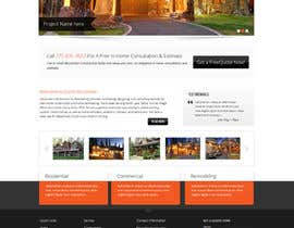 nº 7 pour Website Redesign for Upscale Building Contractor par Pavithranmm