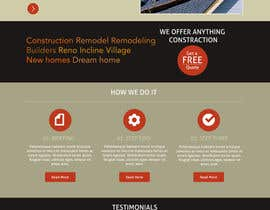 #11 para Website Redesign for Upscale Building Contractor por dutchez8
