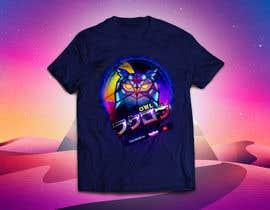 #2 untuk 80s vaporwave T-shirt merch oleh liamgimnez