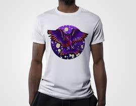 #108 untuk 80s vaporwave T-shirt merch oleh alauddink1
