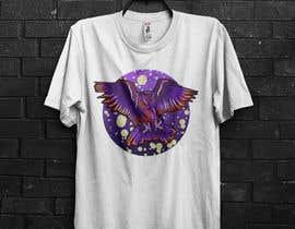 #109 untuk 80s vaporwave T-shirt merch oleh alauddink1