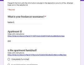 #39 for Data Entry Apartment Website af NadiaSpada
