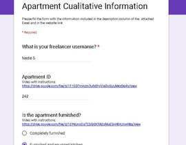 #40 for Data Entry Apartment Website af NadiaSpada