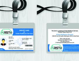 #13 cho Design ID badge for employee, front and Back.  Use any logo for best results. Healthcare staff company.       www.aristohealthcareservices.com bởi mdrahad114