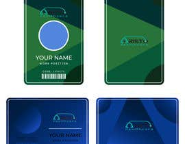 #14 cho Design ID badge for employee, front and Back.  Use any logo for best results. Healthcare staff company.       www.aristohealthcareservices.com bởi Mfadhil28