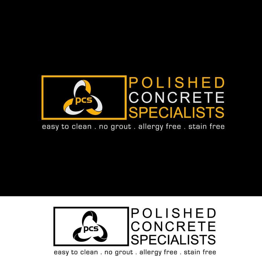 Kilpailutyö #127 kilpailussa Logo Design for Polished Concrete Specialists