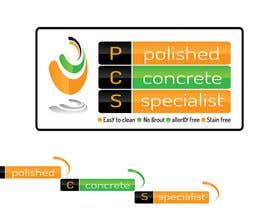 #131 untuk Logo Design for Polished Concrete Specialists oleh vineshshrungare