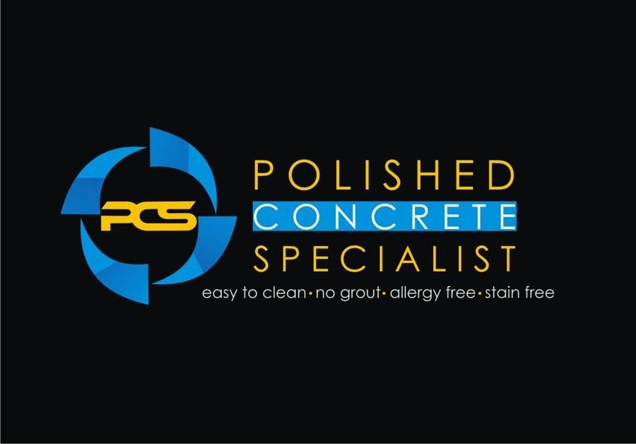 Kilpailutyö #60 kilpailussa Logo Design for Polished Concrete Specialists