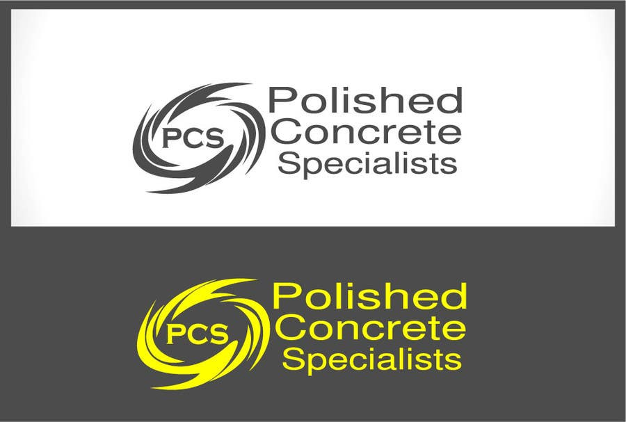 Bài tham dự cuộc thi #                                        48                                      cho                                         Logo Design for Polished Concrete Specialists