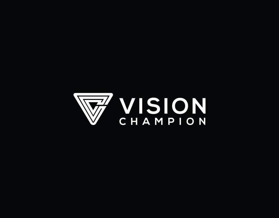 Penyertaan Peraduan #137 untuk Logo for VisionChampion