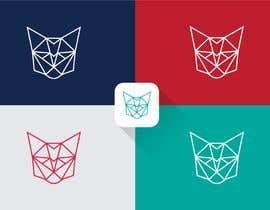 Nro 30 kilpailuun Design A Geometric Cat Face as part of a logo käyttäjältä Jbroad