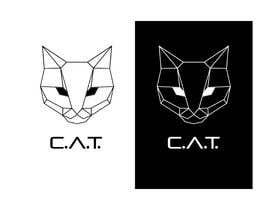 Nro 64 kilpailuun Design A Geometric Cat Face as part of a logo käyttäjältä Eng1ayman