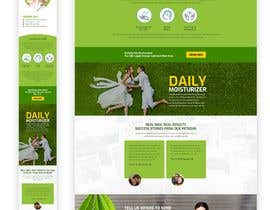 #50 for Responsive Landing Page Design for CBD Liquid Arouse by pradeep9266