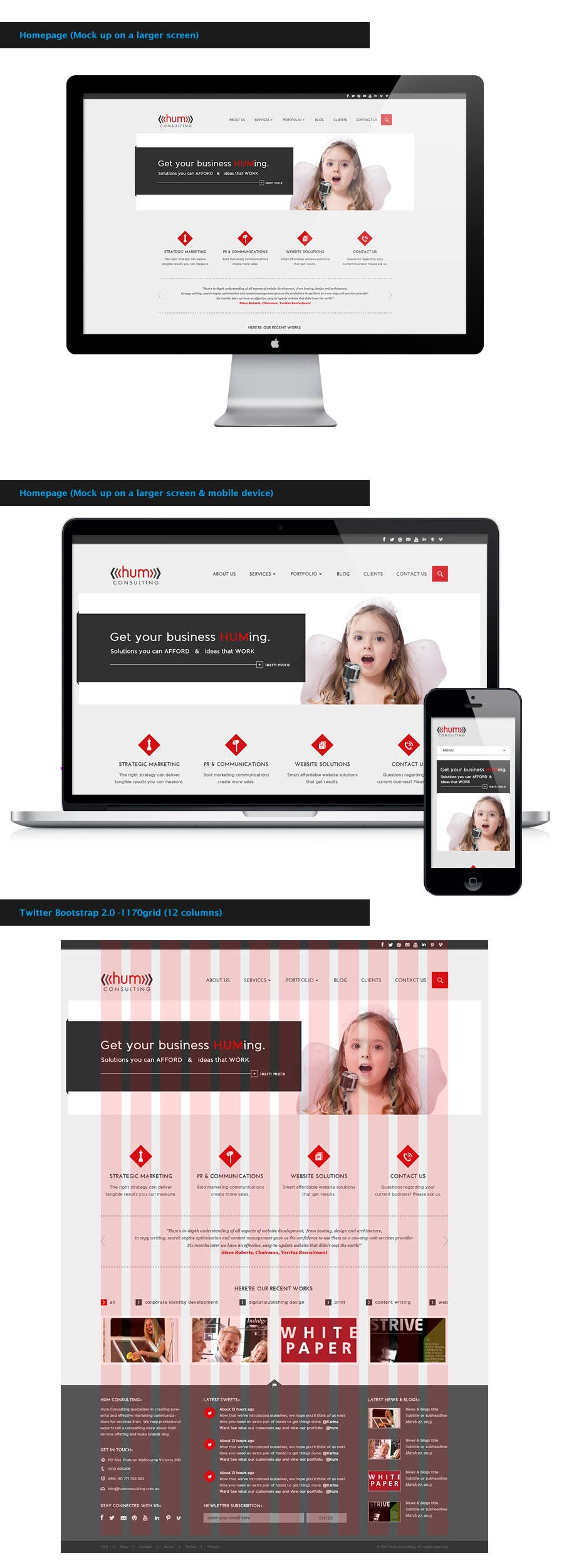 #49 for Website Redesign for Digital Marketing Company by amandachien